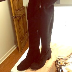 Gianvito Rossi over the knee boot